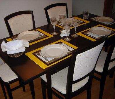 Suppertable